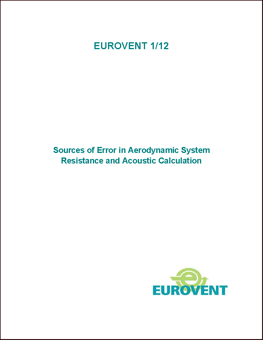 2011 - Sources of error in aerodynamic system resistance and acoustic calculation
