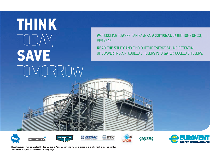 Eurovent Flyer: Think Today, Save Tomorrow
