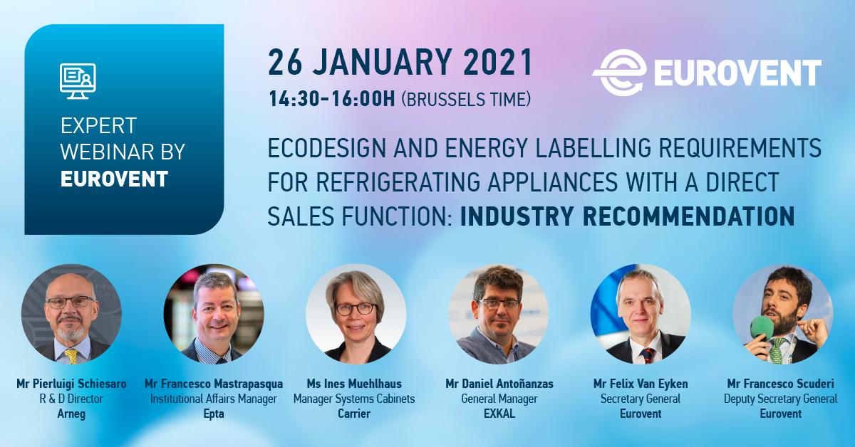 2021 - Eurovent Expert Webinar