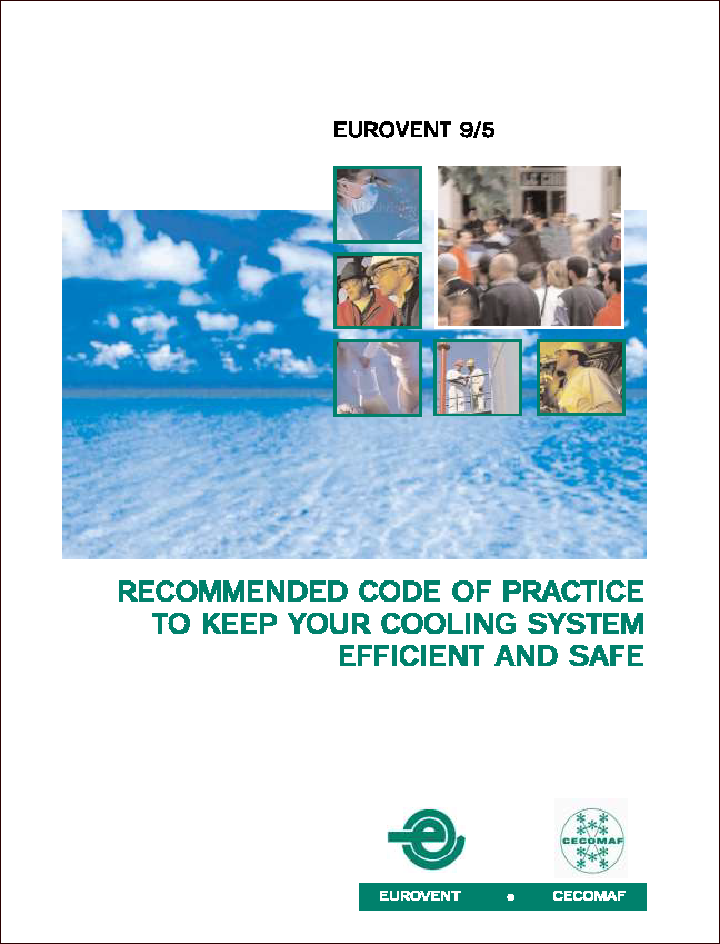 2002 - Recommended code of practice to keep your cooling system efficient and safe