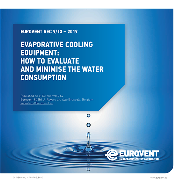 2019 - How to evaluate and minimise the water consumption