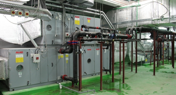 2017-03 - Example of an air handling unit installation