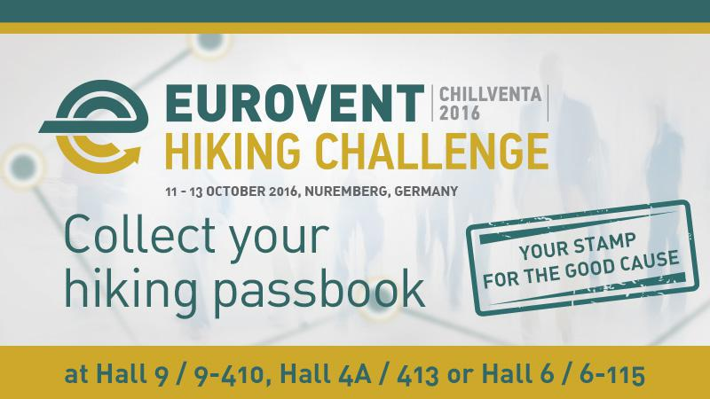 2016 Chillventa - The Eurovent Hiking Challenge