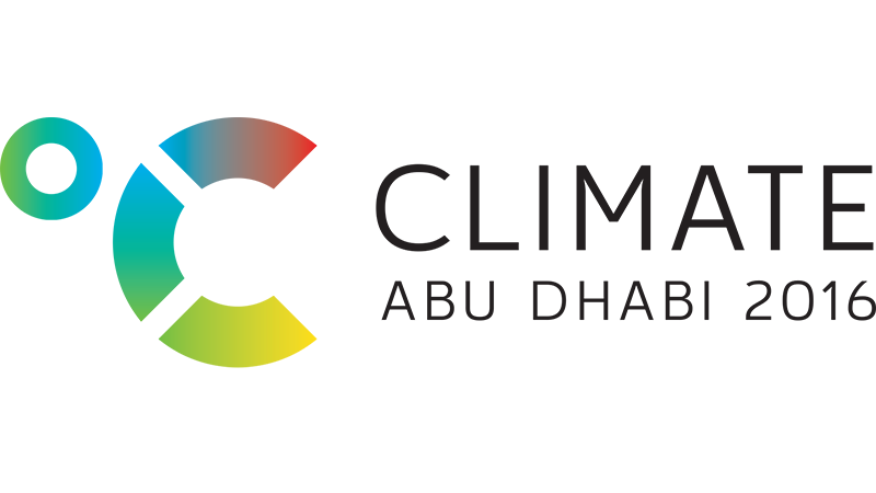 2016 Climate Abu Dhabi - Conference Programme