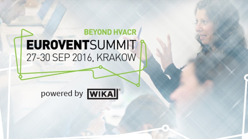 2016 Eurovent Summit - Online Registration