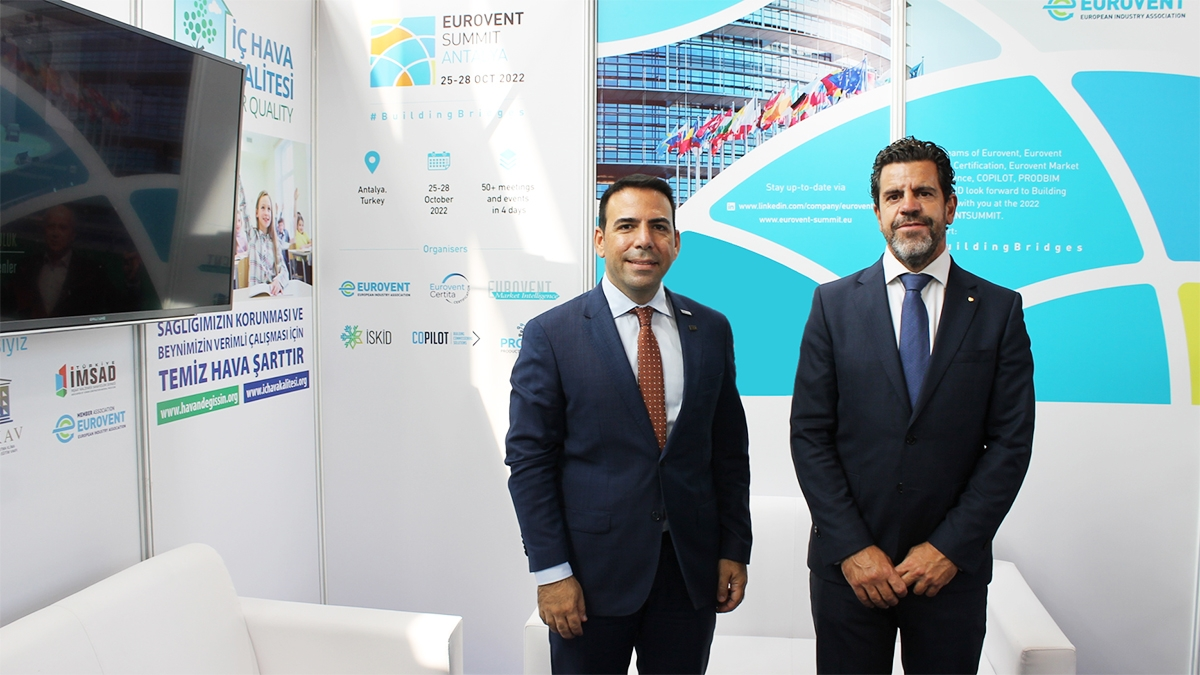 2021 - Organisers announce new date of 2022 Eurovent Summit