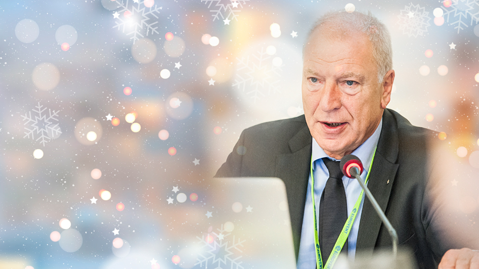 2017 - Season's Greetings by the Eurovent President