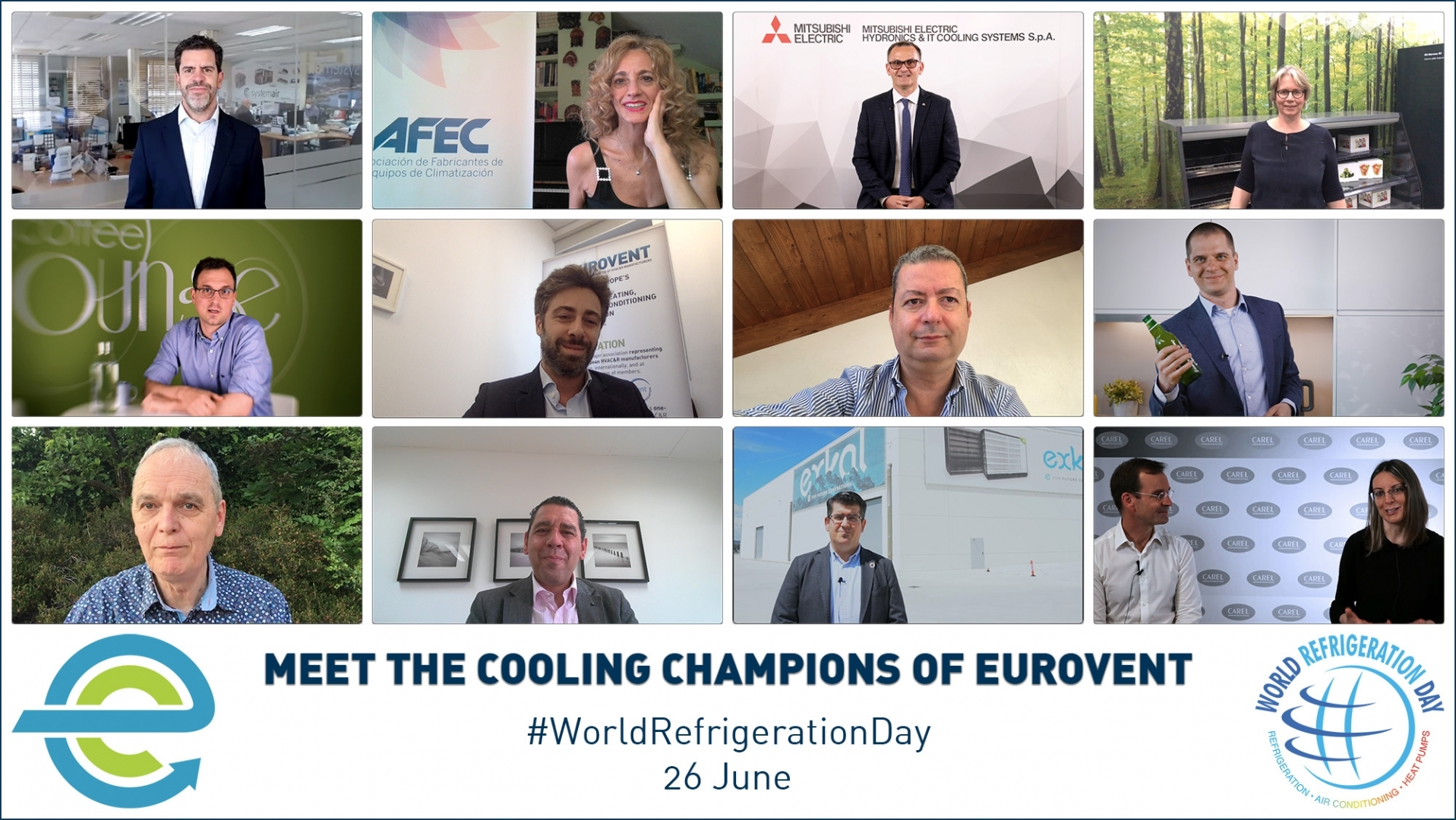 2021 - Meet the Cooling Champions of Eurovent