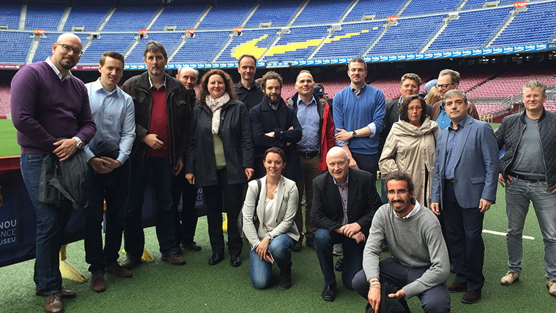 Eurovent Product Group Air Filters in FC Barcelona Stadium